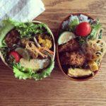 """<span class=""""title"""">猛暑日の毎日、朝から台所仕事も汗だくです。暑さに負けないように食材から元気をもらって。  #今日のお弁当 #手作り弁当 #お弁当記録 #おひるごはん #娘弁当 #イカフライ弁当 #おべんとう #お昼ごはん #lunch #lunchbox #lunchtime ..</span>"""