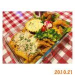 "<span class=""title"">☆☆☆20.10.21  🦩arrabiata アッラビアータ 🦩fried shrimp with egg tartar 海老フライとタルタルソース  made arrabiata using leftover spicy salsa from ta .. #お弁当コンテスト</span>"