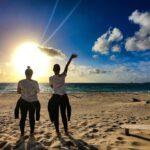 """<span class=""""title"""">𓂃𓂃𓂃𓊝𓄹𓄺𓂃𓂃𓂃  📍イーフビーチ   イーフビーチからのsunrise🌅   久米島ツアーのお知らせを 👇に記載してます。   本島以外も潜ってみたいな〜って方 自信が無くてもフォロー致しますので 一緒にのんびり潜りましょう🏝 ..</span>"""
