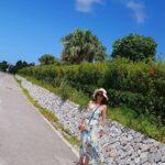 """<span class=""""title"""">【おすすめの場所】 〜ビーチ🏖〜 沖縄のエメラルドビーチ  沖縄本島の本部町にあるエメラルドビーチ🌊 めちゃくちゃ海が透き通ってて綺麗✨  どちらかというと家族連れで来ると楽しめるとこ♪  周りには美ら海水族館もあるからね🐳  この日は快晴で空が青々してた。 海も空も青く ..</span>"""