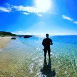 """<span class=""""title"""">おきなわ久しぶりに晴れました☀️ 今日は潜った人多いのではないでしょうか?😁  本部町 崎本部公園内ビーチ 通称:ゴリラチョップ  #本部町 #ゴリラチョップ #沖縄 #おきなわ #沖縄好きな人と繋がりたい #海 #旅行 #沖縄旅行 #自然 #南国 # ..</span>"""