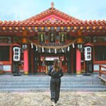 """<span class=""""title"""">Visiting gorgeous Shrines and Temples here in Okinawa will be part of our books🌅🎋.  . .  . . #girlswhotravel #travelphotography #explor ..</span>"""