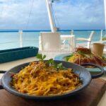 """<span class=""""title"""">📍 #cafe / #石垣島 . . . 海を見ながらランチするのが 沖縄スタイルです✨ ここは波音や風を感じながら テラス席で美味しいパスタorピザが食べれます。 . . Enjoy your launch with this view This  ..</span>"""