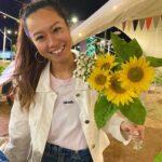 """<span class=""""title"""">. ひまわりと希美🌻⚡️ . . . .  #okinawa #okinawajapan #okilife #explorejapan #exploreokinawa #okinawapress #okinawaholic #lostinoki #okidoki #ok ..</span>"""