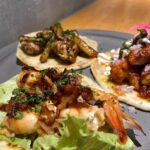 """<span class=""""title"""">ガーリックシュリンプ🦐 タコス🌮  open 11:00〜 We are closed on Monday&Tuesday (except for holidays on Monday and Tuesday)  #blueentrancekitchen #okica ..</span>"""