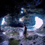 """<span class=""""title"""">🌊🌊🌊 . 最近見つけたSecret Point 📌 与那国島の中でも一番お気に入りスポットになった☺️  『Bluehall cave』と名付けよう☝🏾</span>"""