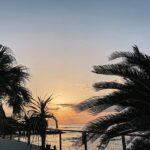 "<span class=""title"">Beautiful sunset….🌴☀︎ ・ ・ ・ ・ ・ 太陽が綺麗だなぁと思う日は 気付いたらビーチに向かってる🌅 ・ ・ #beach #sea #palmtrees #sunset #sun #chill #relaxtime #beautiful #o ..</span>"