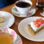"""<span class=""""title"""">🍰☕️🍋 美味しいケーキが食べたくて @coffeesenka.loop さんへ❤︎  ▶︎ グレープフルーツのタルト ▶︎ ラムレーズンのチーズケーキ  久しぶりに読み始めた本が面白くて止まらない📚</span>"""