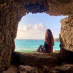 "<span class=""title"">✴︎ 🌺🌴💙 . . 📍ざねー浜(beach51) . 岩の窓で有名なビーチ51🏝 こちらは自然にできた場所ではなく あることがきっかけで出来た場所 . . . . .  #okinawa #okinawalife #okinawa_love #island #sea ..</span>"