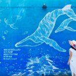 "<span class=""title"">沖縄県 国頭郡  「民謡居酒屋ちゃんぷるー」の壁に描かれた くじらのアートが素敵な一枚です🐋✨  青い壁に白い繊細なクジラの絵、 一度見たら忘れられません☺️📸  詳細はプロフィールリンクをチェック💙  #okinawagram #okirakuphoto #okina ..</span>"