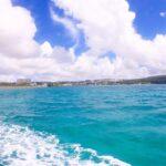 """<span class=""""title"""">.  〜沖縄のエメラルドブルーな海〜  飛行機から見たらすごくわかりやすい😉  沖縄の海って特別綺麗じゃないですか?☺️  沖縄来たら海入んないともったいないですよ?笑笑😆💦💦   夏のご予約承っております‼️‼️   ➰➰➰➰➰➰➰➰➰➰➰➰➰➰➰➰➰ ..</span>"""