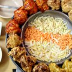 """<span class=""""title"""">Korean Fried Chicken with cheese fondue…. 🤤🧀🍗</span>"""