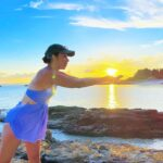 """<span class=""""title"""">.  . sunset明るくしたら☀️それはそれで好きだった🧡  結果どっちも好き☺️  暗くなるのが遅いから時間感覚が狂っちゃう🌐🌐🌐  19:00とか明るいから17:00かと思ったよ笑  なんの話😂🤫🤫🤫  .  .  .  .  .  .  .  #沖縄 #沖縄の ..</span>"""