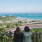 """<span class=""""title""""> <本島南部の絶景スポット・ニライカナイ橋>  沖縄は年1〜2回くらい行くんだけど、 実は南部には行ったことがなくて初めて行ったの😳 いつも北部ばっかりだからすごい新鮮だったな〜  橋の頂上付近にトンネルと展望台があって その展望台から写真撮ってもらった🤳 あたり一 ..</span>"""
