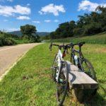 """<span class=""""title"""">リハビリライド at 背割堤 ここは最高に気持ちいいです❗️😆 . #リハビリライド #背割堤 #自転車のある風景 #サイクリング #ロードバイク #ロードバイクのある風景 #ロードバイク好きな人と繋がりたい #スマホ写真 #スマホ撮影 #スマホ越しの私の世 ..</span>"""