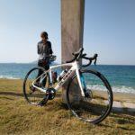 "<span class=""title"">✈︎✈︎✈︎ 青い空に青い海✨ 志賀島RIDE🚴♀️ ✈︎ #DEROSA #derosaidol #derosabikes #roadbike_jp #roadbike #ロードバイク #ロードバイク女子 #ロードバイク好き #ロードバイク初心者 # ..</span>"