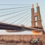 "<span class=""title"">定番のコースを夕方ぶらぶらポタリング🚴  ストーリーの投稿でもコメントしたのですが、工事中の足場が良い感じでお気に入りです。 #田尻スカイブリッジ #夕陽 #橋のある風景 #cycling #cycle #cyclelife #cyclist #cyclestyl ..</span>"