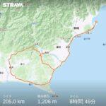 """<span class=""""title"""">2021.1.9 BRM109静岡200km(いちご200)に出走してきました。  この週末は猛烈な寒波と低気圧で、寒いわ風強いわな予報でしたが、走ってればそんなに気にならないいつもの冬ブルベ。  島田の河川敷公園を8:35にスタート。 新東名をくぐっ .. #ロードバイクJP</span>"""