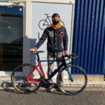 """<span class=""""title"""">★ 通院と入院  自転車の話です。 前回(半年前)診てもらってからすごく(買った時より❗️)調子良かったんですけど、レースで接触したりもしたし、少し不安も出てきたのでまた輪暮サイクリングの高橋さんに診てもらいました。 ▶︎ @limbocycling .. #ロードバイクJP</span>"""