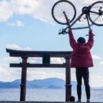 """<span class=""""title"""">Shirahige shrine #wilier #sensah #shimano #ultegra #roadbike #roadbike_jp #japan #shiga #photography #olympus #olympusomde .. #ロードバイクJP</span>"""