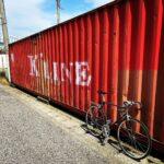 """<span class=""""title"""">自転車で #ぽたりんぐ 気に入った場所で写真撮る。  そんな休みの過ごし方。  早く暖かくならないかなぁ  #過去ピク #いつかの写真シリーズ #kline #コンテナ #貨物コンテナ #ロードバイクJP</span>"""