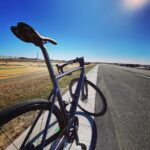 """<span class=""""title"""">爆風ライディング。 強烈な北風を堪能!! 平地なのに巡航15km/時くらいしか出ず…笑 厳しい試練を与えてくれる自然に感謝!よきトレーニングになりました!押忍!  #爆風ライド #江戸川サイクリングロード #スコットアディクト #addictr .. #ロードバイクJP</span>"""