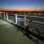 """<span class=""""title"""">Today I went to a different destination for my bicycle ride, and arrived earlier than what I estimated.🚴♀️  #dawn #winter .. #ロードバイクJP</span>"""