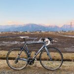 "<span class=""title"">朝焼けのタイミングを狙ったのですが、iPhoneの性能が良すぎて青空になっちゃった。あと遅ればせながらとある棒を導入。 #fujibikes #roadbike #roadbike_jp #cycling #ロードバイク #ロードバイクのある風景 # .. #ロードバイクJP</span>"