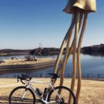 """<span class=""""title"""">〜〜〜  芸術的感覚ゼロの理系人間のため、 未だに理解が追いついかず….  人間って不思議ですね  自転車乗れてないので、 この前のお出かけpic  春が待ち遠しいです  ※気づかず入ってしまいましたが、 自転車は押して入園し .. #ロードバイクJP</span>"""