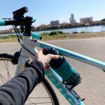 """<span class=""""title"""">. . ボトル昨日届いて入れようとしたんですけど入りませんでした。。笑 大きさちゃんと見ておけばよかった でもボトルもバイクも可愛いから写真撮りました笑 . #ロードバイク #ロードバイクのある風景 #ロードバイク女子 .. #ロードバイクJP</span>"""