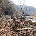 """<span class=""""title"""">#廃線跡 #北摂ライド #自転車のある風景 2021/2/28撮影 おはようございます☀️ 武田尾の福知山線廃線跡です🎶😀グラベル路🚴💨⁉️いやいやハイキングコースなので自転車はハイカーに迷惑だな🤔写真を撮るためトンネル迄行きました🤗 #サイクリン .. #ロードバイクJP</span>"""