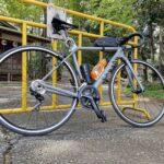 "<span class=""title"">今日は多摩川サイクリングロードを上流に向かってサイクリング 目的地は阿蘇神社だったけど、偶然チューリップ祭りを発見して寄り道 帰りはギアを間違えて1段重くしたまま走り続け、脚が逝ってしまった😭 . 今度はどこを目指そうかな . . #ロードバイク # .. #ロードバイクJP</span>"