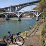 """<span class=""""title"""">津久井湖あたりをブラブラ😁~の写真。 With the Bridges🎵. 。 #サーリーバイク #サーリーミッドナイトスペシャル #グラベルロード #クロモリ #ロードバイクのある風景 #ロードバイク #サイクリング #サイクリングフォト #ロード .. #ロードバイクJP</span>"""