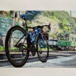 """<span class=""""title"""">ロードバイクと江ノ電  キャニオンかな?  #ロードバイク #ロードバイクのある風景 #roadbike_jp #ロードバイクのある風景 #ロードバイク女子 #ロードバイク好きな人と繋がりたい #ロードバイクのある生活 #roadbike #自転車  .. #ロードバイクJP</span>"""