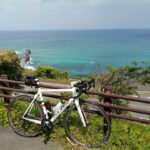 """<span class=""""title"""">. 旧道から屏風岩を望む . 先日のタンイチライド🚴➰ この日は走りなれてる道を逸れて旧道を走りました。 景色が良いからパチリ📷 写真撮りという名目の足休めです🤣 . #屏風岩 #丹後の海 #タンイチ #丹後 #丹後半島 #海の京都 #こ .. #ロードバイクJP</span>"""
