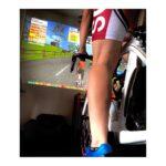 """<span class=""""title"""">♡ . . 朝からもズイフト🔥 . . リアルで走るより、負荷がかかる?いいトレーニングになりそう😄😄 . . ズイフトのやり方というか、ルート決めが難しい… . . それとバイクを変えたい、ウエアも変えたい。レベルはまだ1…… . . めっちゃ汗かく .. #ロードバイクJP</span>"""