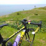 """<span class=""""title"""">金沢に引っ越して、早く行ってみたかったところ、白米千枚田に行ってきました😆 千枚田の奥には海が広がってます! 素敵すぎる😍  #ロードバイクのある風景 #roadbike #サイクリング #サイクリスト #ロードバイク #cycling #cycli .. #ロードバイクJP</span>"""
