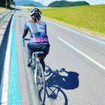 """<span class=""""title"""">道は続くよどこまでも! 今日は100㌔RIDE✨ 暑くてヘロヘロ…💦オマケに向かい風💦  あぁ、でも楽しかった♥  #ロードバイク #ロードバイク初心者 #ロードバイク夫婦 #ロードバイク女子 #ロードバイクjp #ロードバイク大人女子 #ロードバイ .. #ロードバイクJP</span>"""