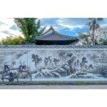 "<span class=""title"">ずっとロードバイクと一緒に写真を撮りたかったスポットです😆  佐賀にある「浄土寺の巨大壁画」✨ 壁一面描かれています‼️ 迫力があるので是非佐賀に来たら見に行ってみて下さい👍  #roadbike #ロードバイク #RIDLEY #リドレー #ゆるぽ .. #ロードバイクJP</span>"