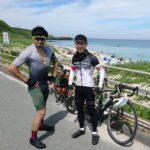 """<span class=""""title"""">事故以来4年半ぶりのライド。 オリンピックくらいの期間、一緒に走っていなかったけど、以前と同じように楽しかったです🤗  #角島 #角島ジェラートポポロ #ロードバイクのある風景 #ロードバイク男子 #ロードバイク好きな人と繋がりたい #ロードバイクの .. #ロードバイクJP</span>"""