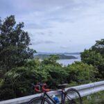 """<span class=""""title"""">今日は佐伯ライド🚵♀🏔  猿戸港からスタートして鶴見スカイラインを経由して空の公園を目指す…はずだったけど道を間違えて鶴見半島を1周してしまったwww 今日は友達が車でサポートしてくれたのですぐに助けてもらえて本当に助かった💦  そのまま蒲江を目指し .. #ロードバイクJP</span>"""