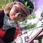 """<span class=""""title"""">ビーチパラソル風⛱️  星ヶ丘テラスをゆるポタ中に傘☂️のオブジェと、ブランコを発見👀( *^艸^)  まだオープン前だったので勝手に遊ばせていただきました""""(ノ*>∀<)ノ  ブランコに乗ってハイジ気分🗻  #東山ガーデンテラス #三越星ヶ丘店 .. #ロードバイクJP</span>"""
