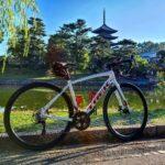 """<span class=""""title"""">おはようございます☀️ 本日も快晴で、気持ちの良い朝ですね😊  今日も仕事前のライドへ🚴  古都奈良の世界遺産、五重塔からダムの方へ😊 距離は30kmくらいですが、仕事前のライドにはちょうど良い距離でした😊 #ロードバイク #グラベルロードバイク .. #ロードバイクJP</span>"""