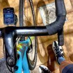 """<span class=""""title"""">"""" Buscar records no es lo que me mantiene sobre mi bicicleta, es la felicidad."""" ✌✌✌💯🙂   – #cycling #cyclinglife #photog .. #ロードバイクJP</span>"""
