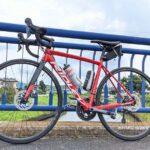 """<span class=""""title"""">昨日撮った写真なんだけど、青い橋が綺麗で一緒に相棒と撮りました👏 なんてことない場所なんだけど、とてもよかった!  ロードバイク #ロードバイク初心者 #ロードバイク仲間が欲しい #ロードバイク生活 #ロードバイク男子 #ロードバイクJP .. #ロードバイクJP</span>"""