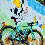 "<span class=""title"">#過去pic 写真 📸 翼を授け~る♪̊̈♪̆̈ 車で通る度気になっていた壁画😬 #ロードバイクjp #エアロロード #ロードバイク #ロードバイクのある風景 #ビアンキ #ビアンキオルトレ #ビアンキオルトレXR4 #パイオニアペダ .. #ロードバイクJP</span>"