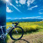 """<span class=""""title"""">. 20210920 陣場形山ライド  志をじでソースカツ丼食べてから 光前寺へ向かう途中  この景色に心奪われ 思わず立ち止まる  秋の訪れ感じますね  ロードバイク♡  #自転車 #ロードバイク #サイクリング #自転車女子 #ポタリング .. #ロードバイクJP</span>"""