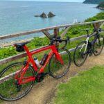 """<span class=""""title"""">ピナレロGAN  はじめて二見ヶ浦の展望台?的なところに登ったら景色綺麗すぎた!!  結構な傾斜だったんでフロントインナーに入れっぱなしです笑  #福岡ロードバイク #糸島サイクリング #二見ヶ浦 #ピナレロgan #ロードバイク #ロードバイクのあ .. #ロードバイクJP</span>"""