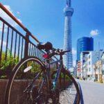 """<span class=""""title"""">𝟐𝟎𝟐𝟏/𝟗/𝟐𝟒 ・ ・ 𝐂𝐲𝐜𝐥𝐢𝐧𝐠 𝐭𝐨 𝐓𝐨𝐤𝐲𝐨!! ・  #クロスバイク #自転車 #東京 #疲れた #自転車のある風景 #スタバ #スタバすきな人と繋がりたい #tokyoskytree #ロードバイクJP</span>"""